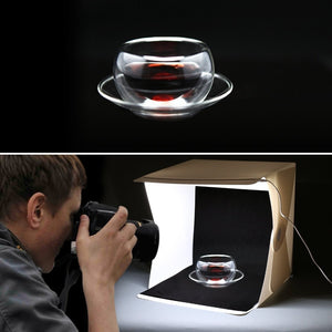 Foldable Photography LED Lightbox Kit
