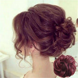 Messy Rose Bun