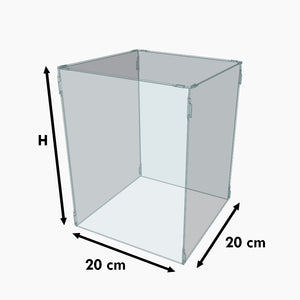 Cloche base 20x20 cm (hauteur custom)