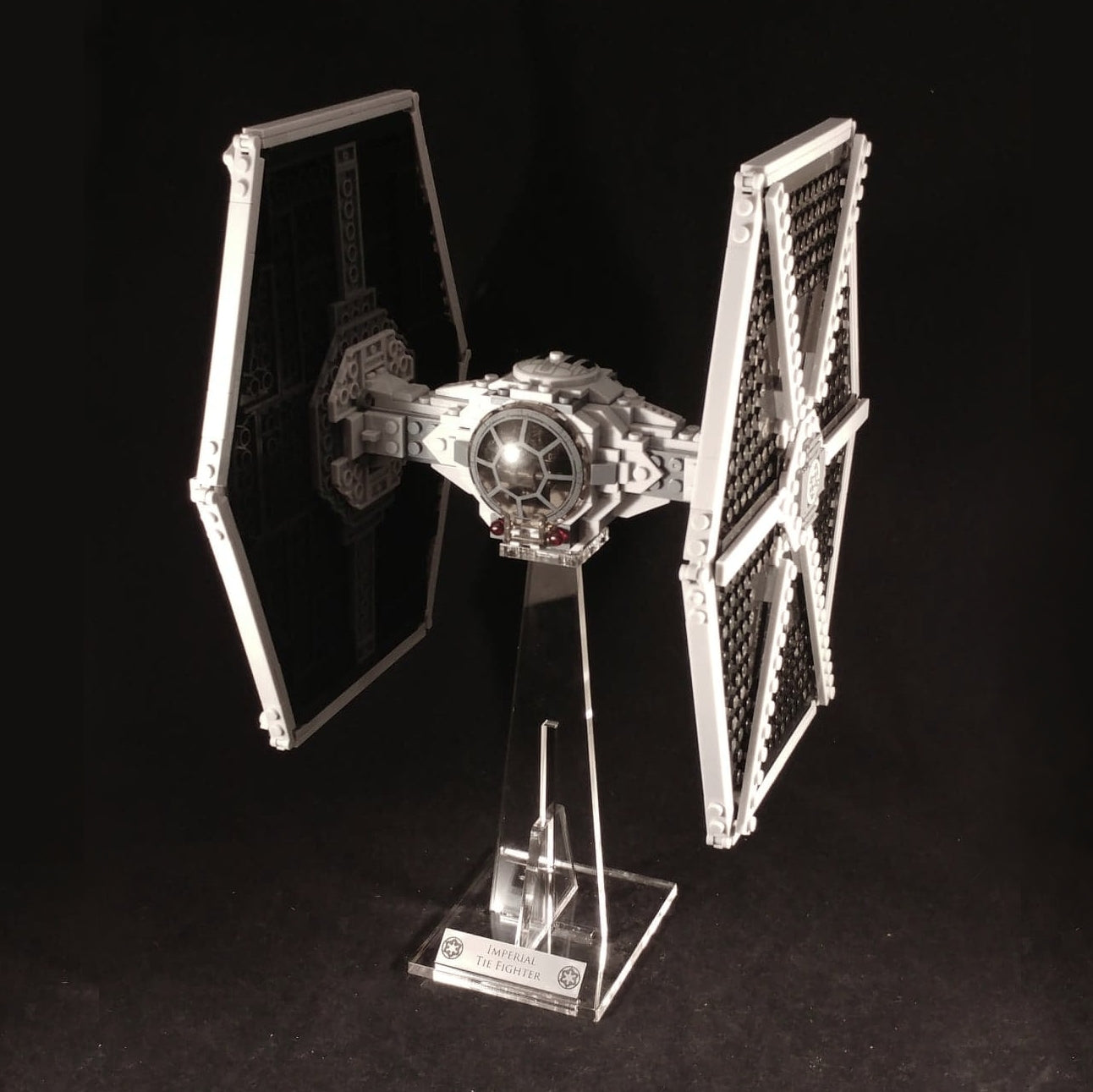 Support Lego 75211 Imperial Tie Fighter
