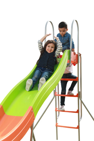 SlideWhizzer 10ft slide - one of the largest freestanding slides for your backyard for summer 2019!