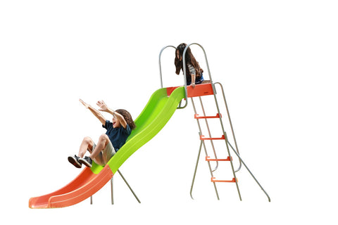SlideWhizzer 10ft slide - one of the largest freestanding slides for your backyard for summer 2020!