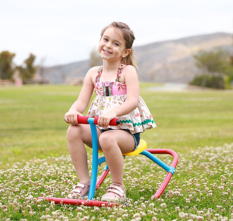 Kids Rocking Chair Seesaw Rider - Summer 2020 - Backyard Endless Fun - Safe At Home