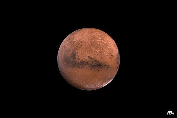 Planet Mars, which is a symbolism of fiery passion