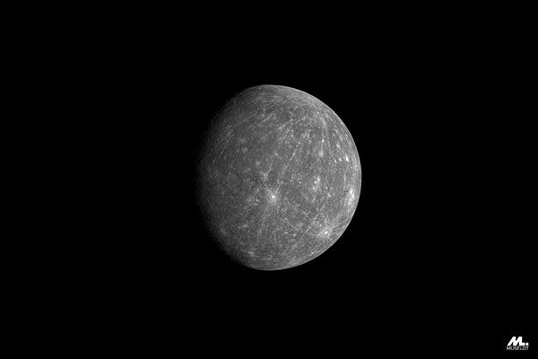 Planet Mercury, which is a symbolism of the art of expression.