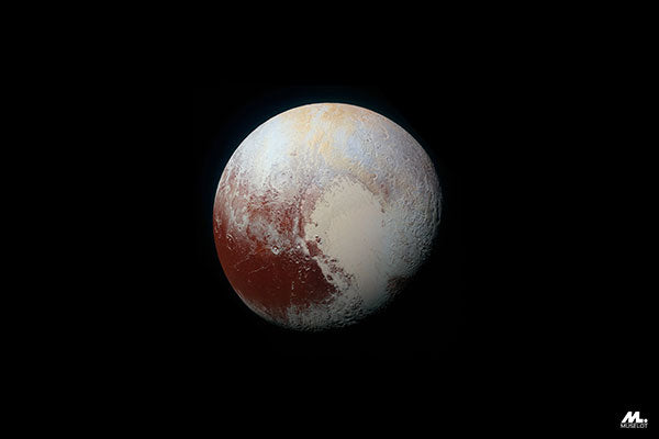 Planet Pluto, which is a symbolism of the creator of happiness and a destroyer of pain. Pluto symbolizes new beginnings and end of sufferings.