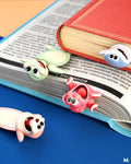 Funny ouch animal bookmarks