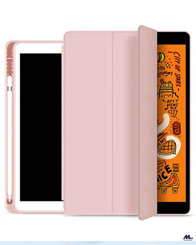 This iPad Air 3 (10.5 inches) PU protective case with pencil holder protects not just your iPad Air 3 but also the Pencils and accessories like caps, nibs, and adapter. Your pencils, caps, nibs, and adapter won't ever be misplaced or lost as this case has separate grooves and compartments for each.
