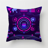 Rocket launch decorative pillow covers