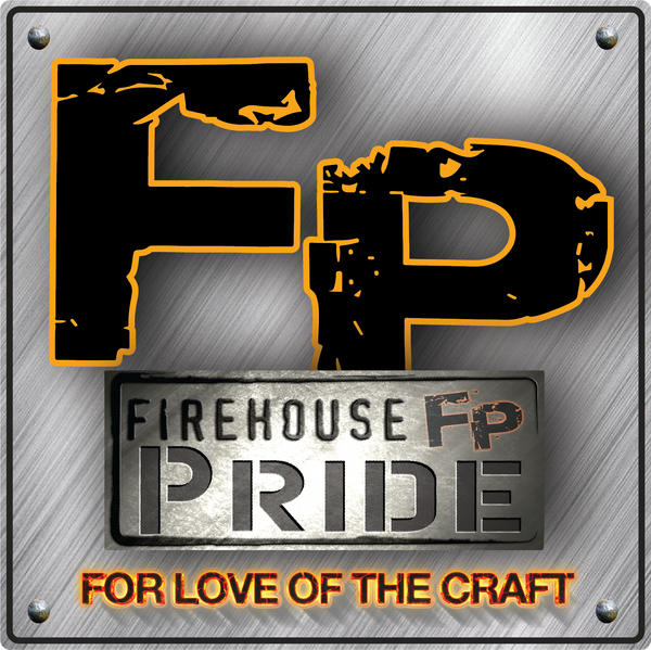 "Firehouse Pride Reflective Helmet Sticker - ""For Love of the Craft"""