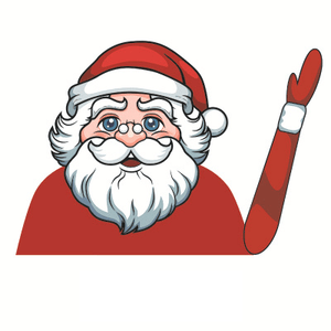Christmas Car Waving Wiper Stickers