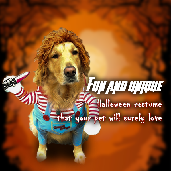 PETVENGERS™ - Deadly Doll Pet Halloween Costume