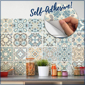 Waterproof Tile Décor Wallpaper