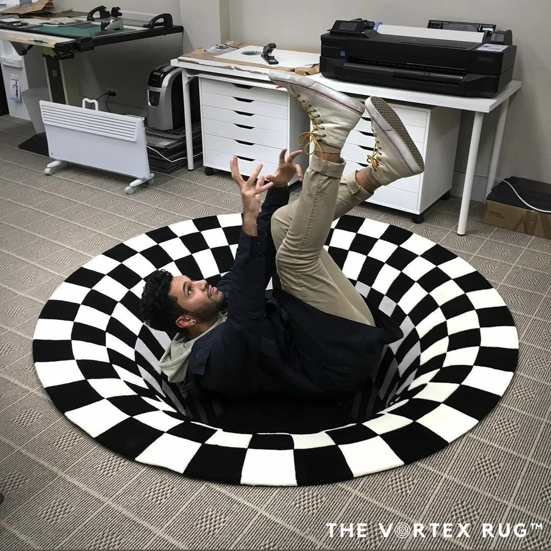 Vortex Illusion Rug™