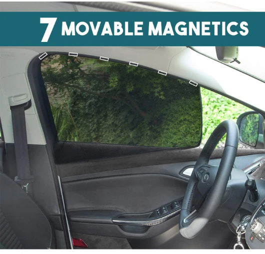 Car Window Magnetic Shade