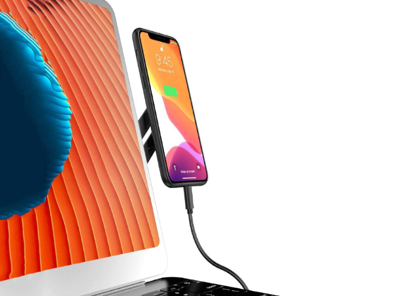 Dual Monitor Magnetic Side - Phone Holder