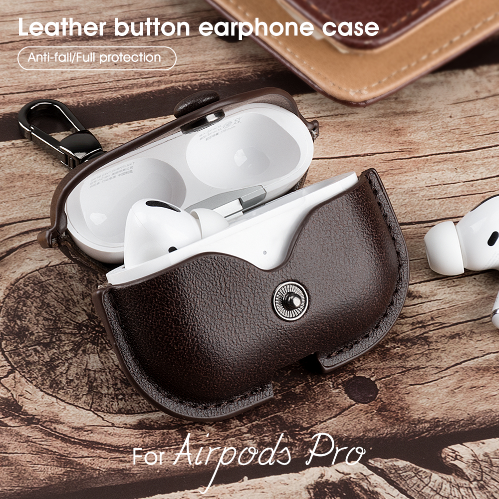 Personalized Leather Airpod Pro Case
