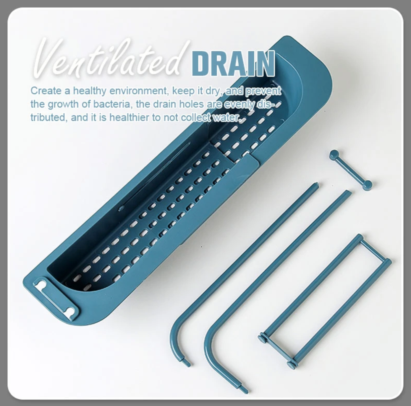 Mivimall™ Telescopic Sink Storage Rack