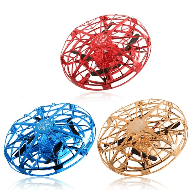 Homerri AIRSPIN™ HAND-CONTROLLED FLYING MINI-DRONE