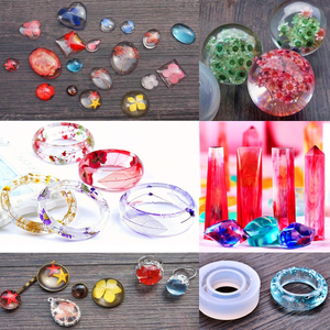 DIY Crystal Glue Jewelry Mold