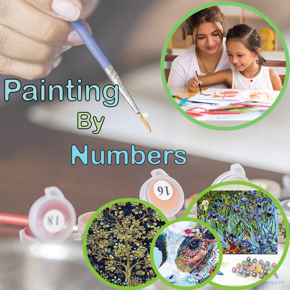 "DIY Painting By Numbers (16""x20""/40x50cm)"