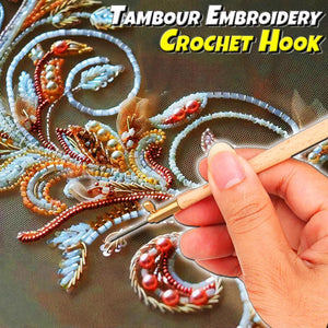 Tambour Embroidery Crochet Hook