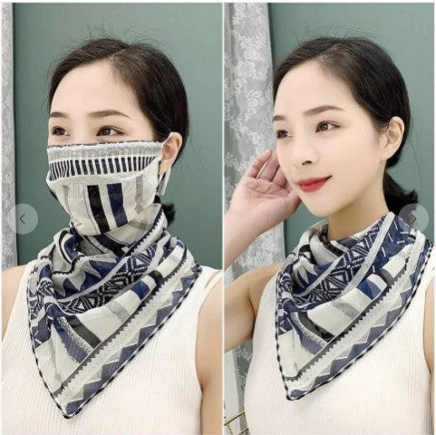 Fran 2 in 1 Scarf Mask - The Look By Lucy