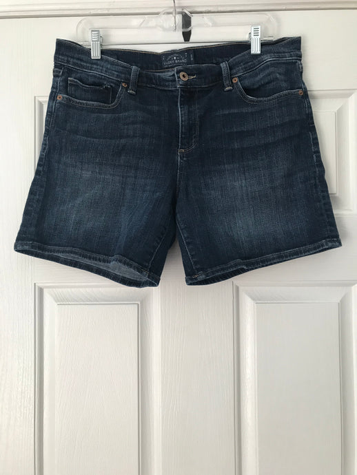Lucky Brand Rollup Shorts Size 12 - The Look By Lucy