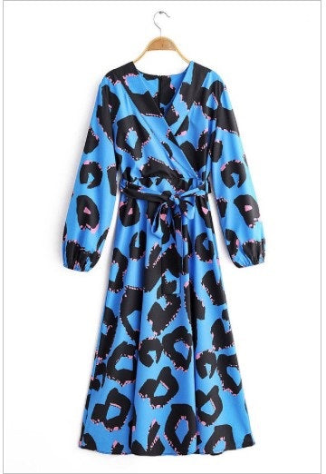 Robin Leopard Printed Maxi Dress
