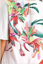 Load image into Gallery viewer, Kali White Floral Top - The Look By Lucy