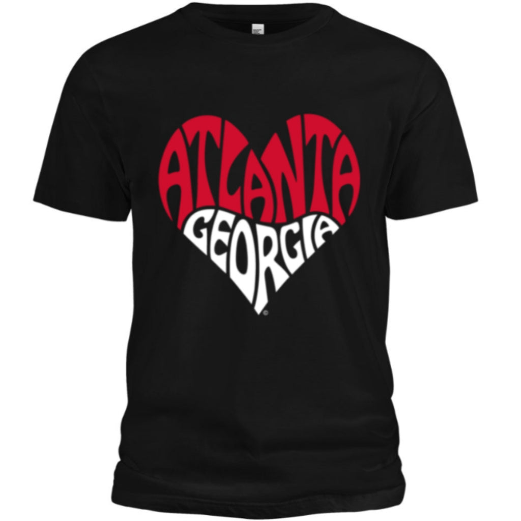 Forever I Love Atlanta -  Tee (Black/White/Red)