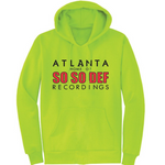 SSD BILLBOARD - Hoodie (Safety Green/Black/Red) - LIMITED EDITION