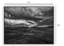 Load image into Gallery viewer, Atmosphere for Dreaming BW Canvas