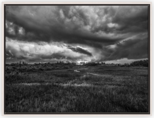 Atmosphere for Dreaming BW Canvas