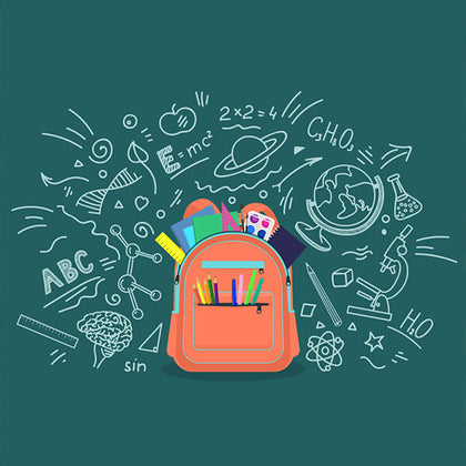 Backpacks and stationary