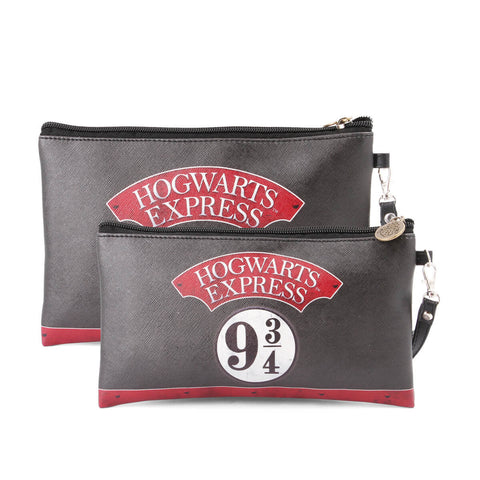 Harry Potter Hogwarts Express 9 3/4 set 2 cosmetic pouch