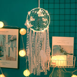 Butterfly White Dream Catcher