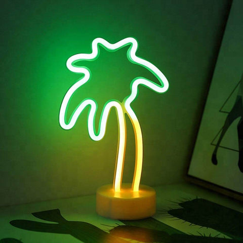 Neon Sign : Coconut Tree