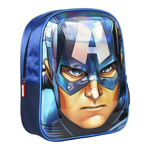 Cerda : Marvel Avengers Captain America 3D backpack