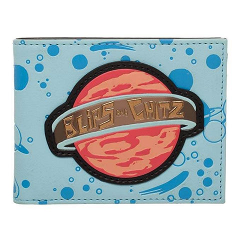 Bioworld : Rick and Morty Blips and Chitz Bi-Fold Wallet