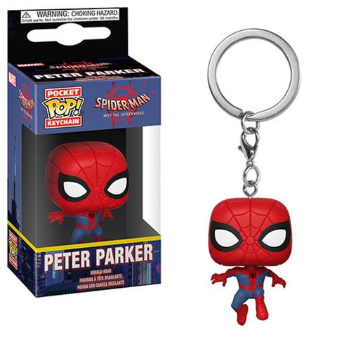 Pocket POP keychain Marvel Animated Spiderman Peter Parker