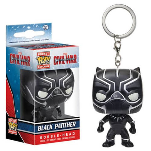 Funko Pop Keychains : Captain America: Civil War - Black Panther
