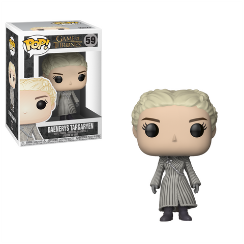 Funko POP TV: GOT S8 - Daenerys (White Coat)