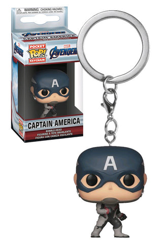 Pocket Pop! Keychain: Avengers Endgame - Captain America