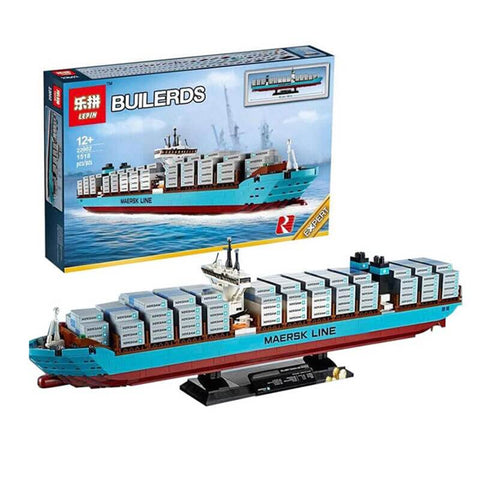 Lepin: The Maersk Cargo Container Ship