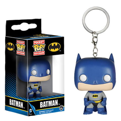 Funko Pocket Pop! Keychain:  DC - Batman