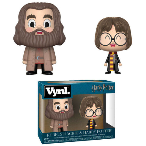 Vynl 2-Pack figure Harry Potter Harry & Hagrid
