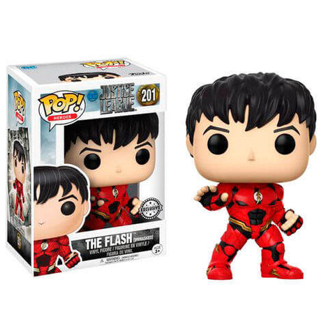 POP figure DC Justice League Unmasked Flash Exclusive