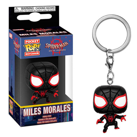 Pocket POP keychain Marvel Animated Spiderman Miles Morales