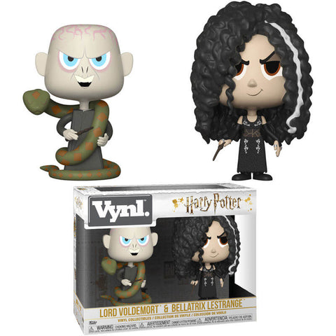 Vynl figures Harry Potter Bellatrix & Voldemort